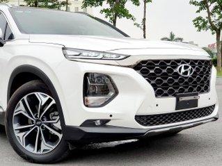 [Hyundai Long Biên] Santafe - sẵn xe giao ngay chạy thuế - hỗ trợ vay 90% Chỉ 250tr nhận xe - tặng nhiều phụ kiện