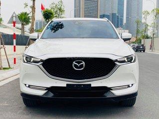 Mazda CX5 2.5AT Premium SX 2018 màu trắng, nội thất đen