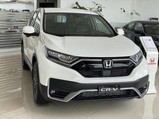 Honda CRV giảm thuế trước bạ 100% + phụ kiện chính hãng - hỗ trợ trả góp lên đến 85%
