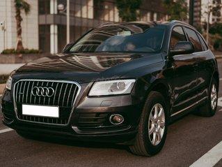 Cần bán xe Audi Q5 SX và ĐK 2013, màu xám ghi