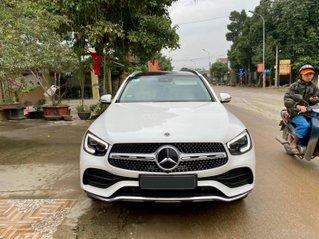 Chính chủ bán Mercedes GLC 300 4Matic SX 7/2020, màu trắng nội thất kem siêu hot, tiết kiệm được mấy trăm triệu