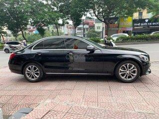 Cần bán xe Mercedes-Benz C200 SX 2016 màu đen, nội thất kem