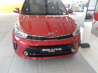 Bán Kia Soluto 2020, màu đỏ, giao xe nhanh