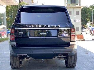 Xe Range Rover Autobiography LWB 3.0 P400 sản xuất 2020 màu đen, nội thất kem sang trọng