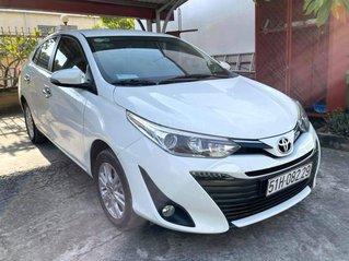 Bán gấp Toyota Vios 1.5G đời 2019, màu trắng