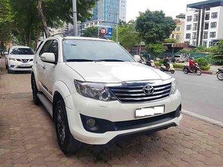 Bán Toyota Fortuner năm 2014, màu trắng, 635 triệu