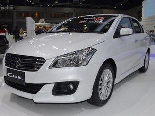 Suzuki Ciaz khuyến mãi giảm giá 35tr tiền mặt + 20tr phụ kiện