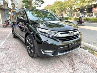 Bán xe Honda CR V sản xuất 2018, màu xanh ít sử dụng