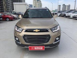 Cần bán xe Chevrolet Captiva 2.4AT 2016 màu vàng cát xe gia đình HCM 36.000km - xe cũ chính hãng Toyota Sure
