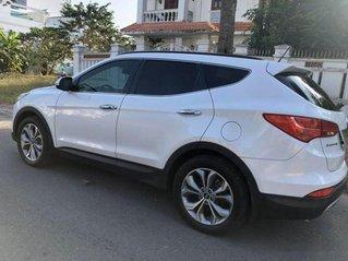 Cần bán xe Hyundai Santa Fe 2.4 AT đời 2016, màu trắng, giá tốt