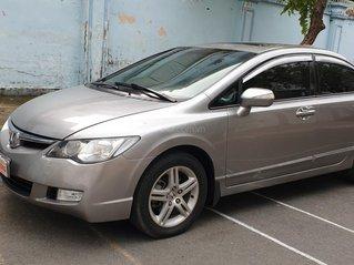 Bán Honda Civic máy 2.0, số tự động, đời cuối 2007, màu xám, đẹp mới 70%