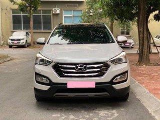 Bán Hyundai Santa Fe 2.4 AT sản xuất năm 2016, màu trắng