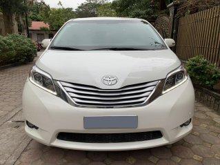 Bán Toyota Sienna LE 3.5L Limited màu trắng nội thất kem, SX 2013, đăng ký 2014 một chủ từ đầu, nhập Mỹ