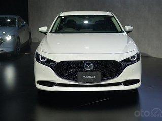 Mazda Bắc Giang - Mazda 3 2020, giảm 50% phí trước bạ, hỗ trợ trả góp 90%, đủ màu, giao xe ngay tháng 12