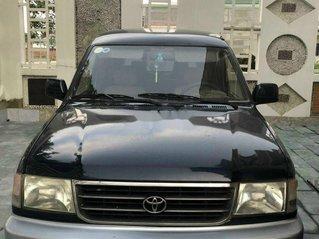 Cần bán gấp Toyota Zace đời 2001, màu đen xe gia đình