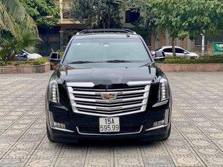 Cần bán gấp Cadillac Escalade năm 2016, màu đen, nhập khẩu chính chủ