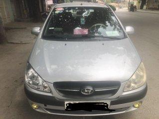 Bán xe Hyundai Getz sản xuất năm 2009, màu bạc, xe nhập chính chủ