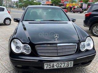 Cần bán xe Mercedes C200 đời 2001, màu đen chính chủ