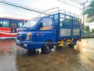 Hyundai Porter H150 1.4 tấn thùng bạt bửng nâng