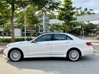 Merc E400 model 2014, 1 chủ, đi 48 000km, BSTP, trắng