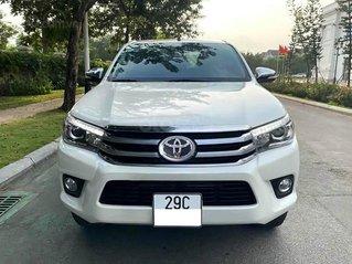 Bán xe Toyota Hilux năm sản xuất 2017, màu trắng, xe nhập