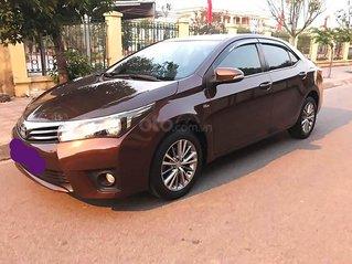 Bán xe Toyota Corolla Altis năm 2015, màu nâu, giá chỉ 570 triệu