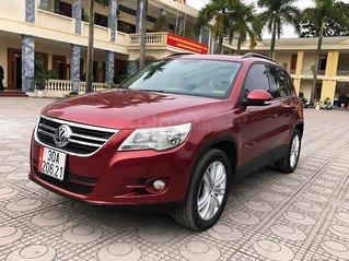 Xe Volkswagen Tiguan đời 2009, màu đỏ, nhập khẩu chính chủ, giá chỉ 460 triệu