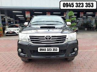 Bán xe Toyota Hilux 2014, màu đen, nhập khẩu