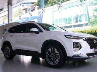 Cần bán xe Hyundai Santa Fe năm sản xuất 2020, màu trắng