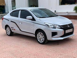 Bán Mitsubishi Attrage đời 2020, màu bạc, nhập khẩu