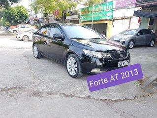 Cần bán xe Kia Forte AT đời 2013 bản full, màu đen