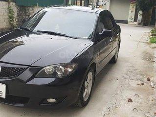 Cần bán gấp Mazda 3 đời 2007, màu đen