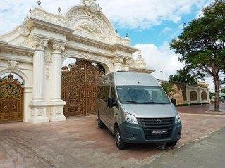 Xe GAZ 17 chỗ Luxury (ghế U) - Nhập khẩu từ Nga