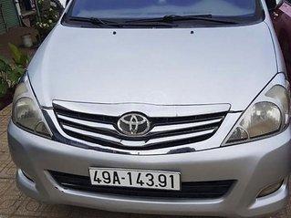 Bán Toyota Innova sản xuất 2011, màu bạc chính chủ, 278tr