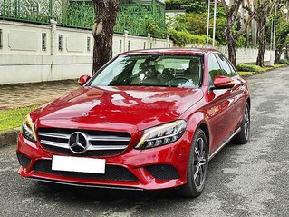 Cần bán lại xe Mercedes C180 năm 2019, màu đỏ