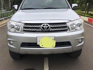 Bán Toyota Fortuner 2009, màu bạc chính chủ