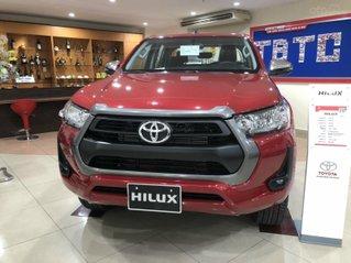 Toyota Hilux 2.4 AT 4X2, bán tải 1 cầu - giao ngay - đủ màu