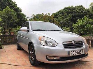 Bán ô tô Hyundai Verna đời 2009, màu bạc, nhập khẩu