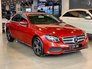 Mercedes Benz Haxaco Kim Giang, Mercedes E180 - Hỗ trợ 50% thuế trước bạ đến tháng 2, trả góp 90% - xe đủ màu giao ngay