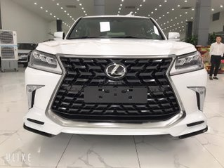 Giao ngay Lexus LX570 MBS 2021, trắng nội thất da bò