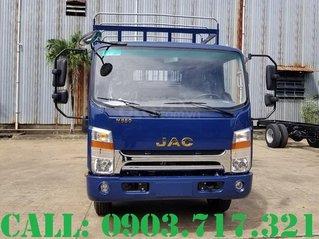 Xe tải Jac N650 Plus động cơ Cummins 2020, thùng dài 6m2 tải 6T6, giao xe ngay