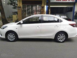 Cần bán Toyota Vios sản xuất 2015, màu trắng còn mới, giá chỉ 295 triệu