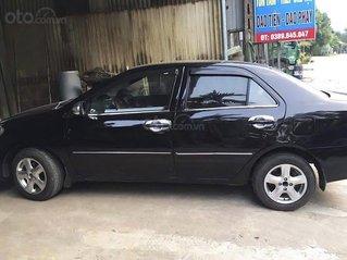 Xe Toyota Vios năm sản xuất 2007, màu đen còn mới, 143tr