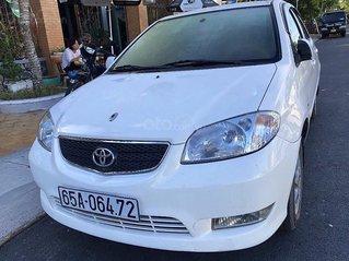 Bán Toyota Vios sản xuất năm 2003, màu trắng còn mới giá cạnh tranh