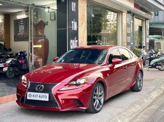 Lexus IS 250 4 cửa Fport sản xuất 2013 màu đỏ cực đẹp