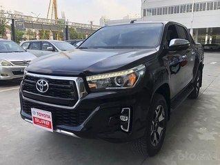 Bán Toyota Hilux 2.8AT năm sản xuất 2020, màu đen, nhập khẩu, giá 870tr