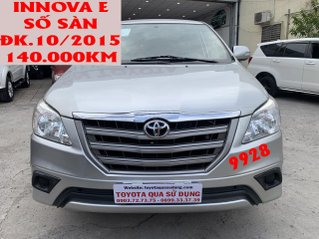 Toyota Innova E số sàn đk 10/2015, giá rẻ