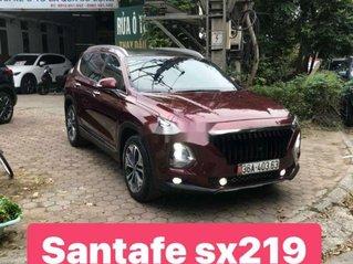 Xe Hyundai Santa Fe đời 2019, màu đỏ chính chủ