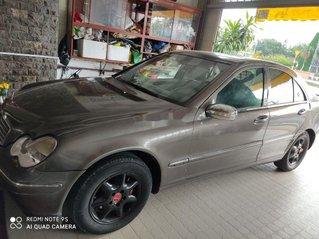 Bán Mercedes C200 2002, màu xám, nhập khẩu còn mới