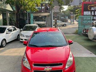 Mới về Chevrolet Spark sản xuất 2014 bản 1.0L, màu đỏ